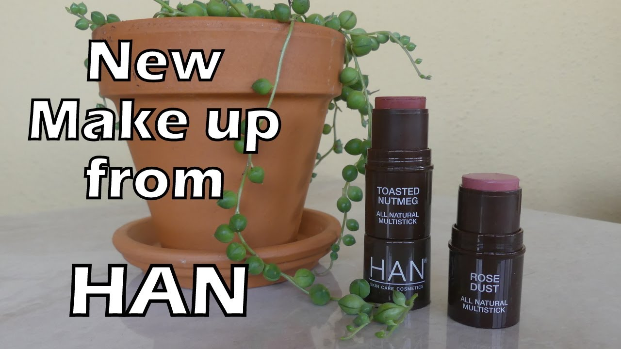 NEW from HAN Cosmetics: MultiSticks Review & Demo | Clean Makeup Brand
