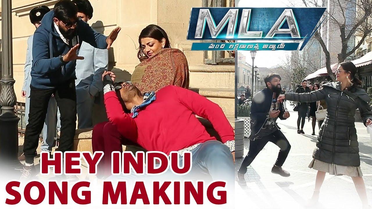 Hey Indu Song Making Video | MLA Movie Songs | Nandamuri Kalayan Ram | Kajal Aggarwal