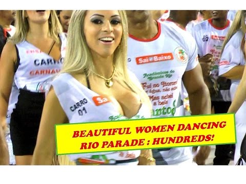HUNDREDS OF BEAUTIFUL RIO WOMEN DANCING: GRANDE RIO FROM BRAZIL TO THE WORLD