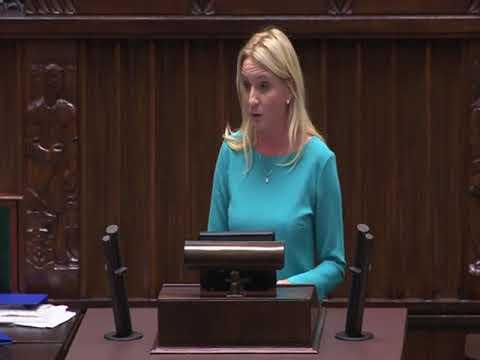 Agnieszka Ścigaj – wystąpienie z 23 listopada 2017 r.