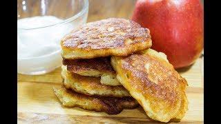 Быстрые оладьи с яблоками  \ УНИВЕРСАЛЬНОЕ Тесто для оладьев