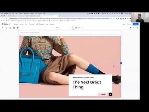 אדיטור x - העורך החדש של וויקס - והפעם הדרכה מקצועית שמועברת ע״י צוות המוצר עצמו!