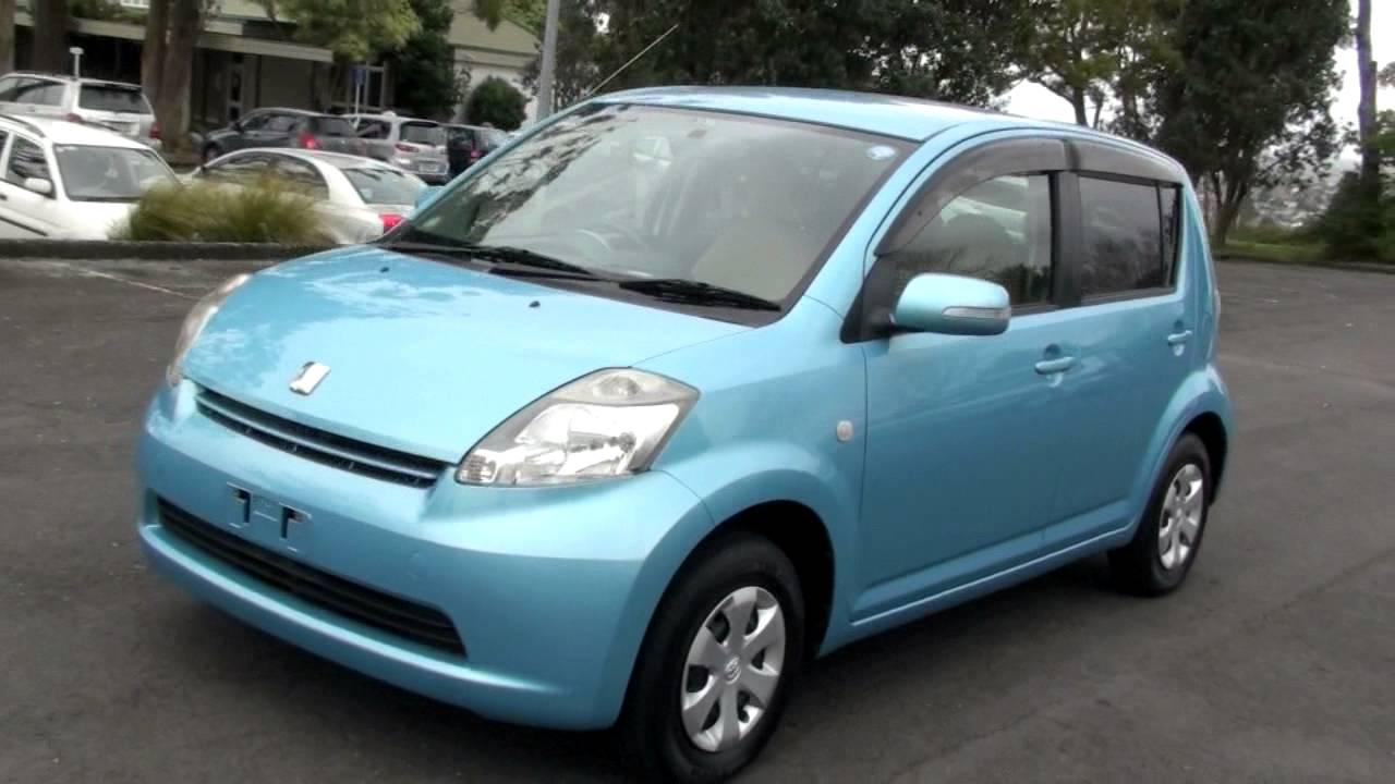 Blue Sky Motors >> Toyota Passo X, Sky Blue 2004, 1L, Auto - YouTube