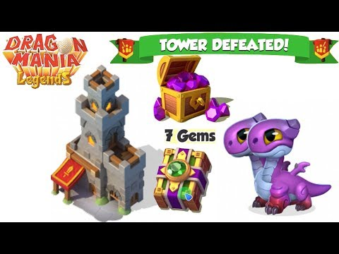 [Event] , Attack the Tower + First prize 7Gems - gameplay - Dragon Mania Legends -part 590