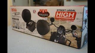 BOSS MCBK420B 오토바이용 블루투스 오디오 개…