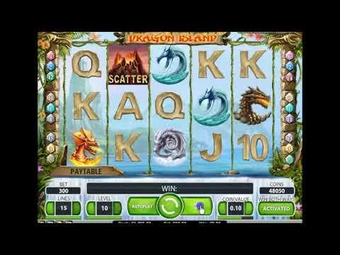 Игровой автомат Dragon Island играть бесплатно и без регистрации онлайн