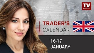InstaForex tv news: Traders' calendar for January 16 - 17: USD still keeping momentum