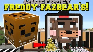 Minecraft: FREDDY FAZBEAR'S PIZZA HUNGER GAMES - Lucky Block Mod - Modded Mini-Game