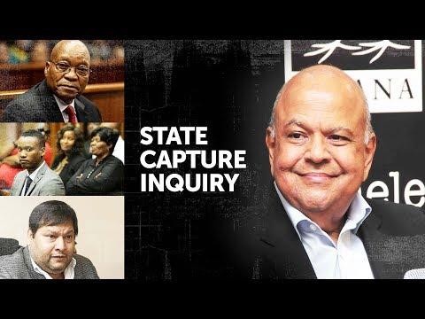 WATCH: Pravin Gordhan appears before #StateCaptureInquiry (Day1 / Part3)