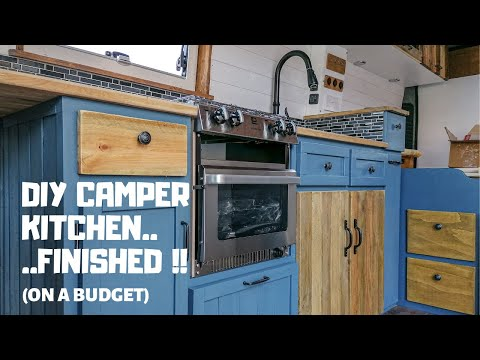 DIY campervan kitchen build... getting us through lockdown!