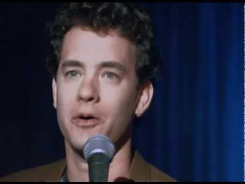 Tom Hanks in Punchline standup meltdown