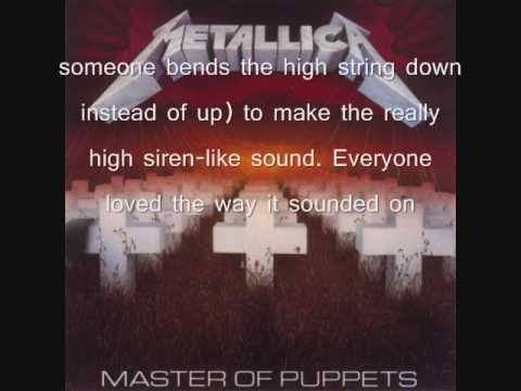 Song Meaning #4: Master of Puppets (Metallica)