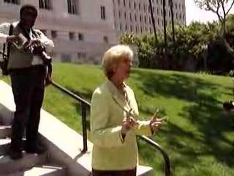 Janice Hahn Supports 420 Protest