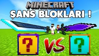 FUTURE VS PLURAL ŞANS BLOKLARI - Minecraft