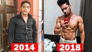 My 4 Year Body Transformation | Rohit Khatri Fitness