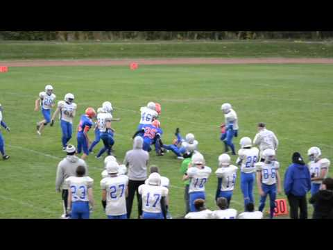 Donald A. Wilson S.S. @ Ajax H.S. October 15, 2015 - Game Highlights