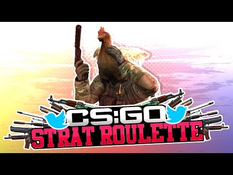CS:GO STRAT ROULETTE #7 - TWITTER EDITION! (CS:GO Funny Moments)