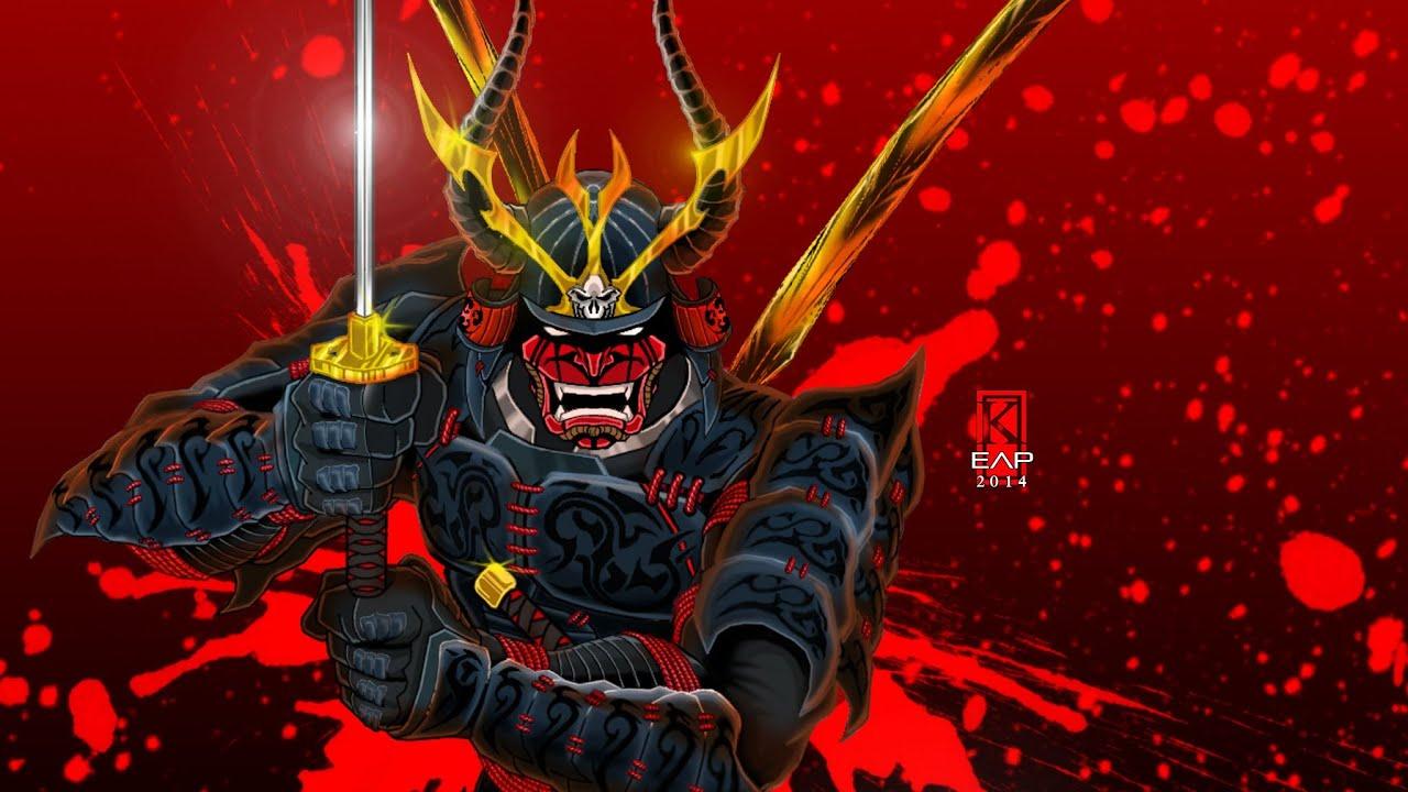 Samurai Warrior Time Lapse Drawing Youtube