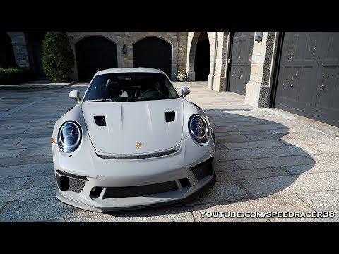 My friend's new Porsche GT3 RS