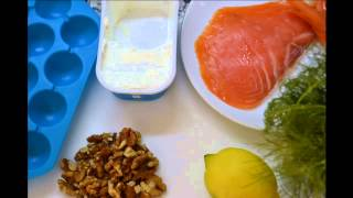 Creamy Cured Ham Balls And Creamy Smoked Salmon Balls