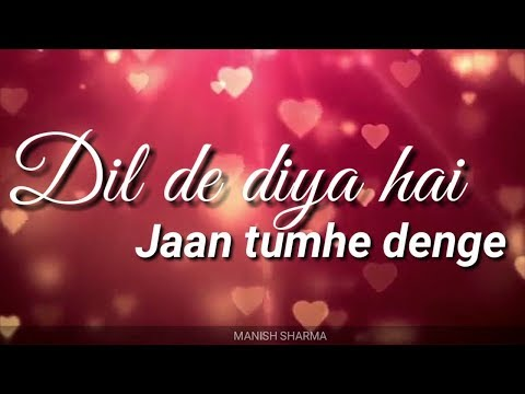 dil-de-diya-hai-jaan-tumhe-denge---heart-tuching-song....new-cover-this-song-cover