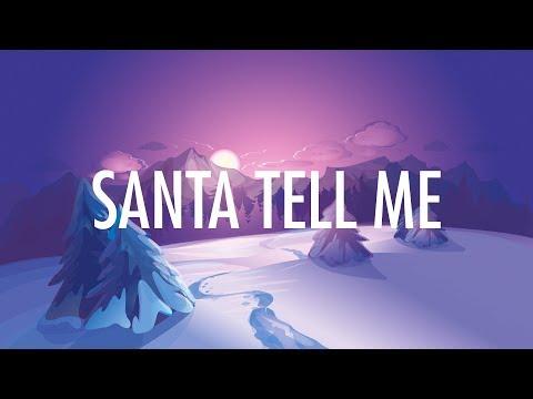 Ariana Grande – Santa Tell Me (Lyrics) 🎵 Mp3