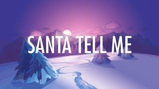 Baixar Ariana Grande – Santa Tell Me (Lyrics) 🎵