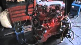 Запуск двигателя Д-245 после повторного ремонта