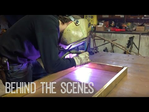 Metal Fabrication Shop : behind the scenes