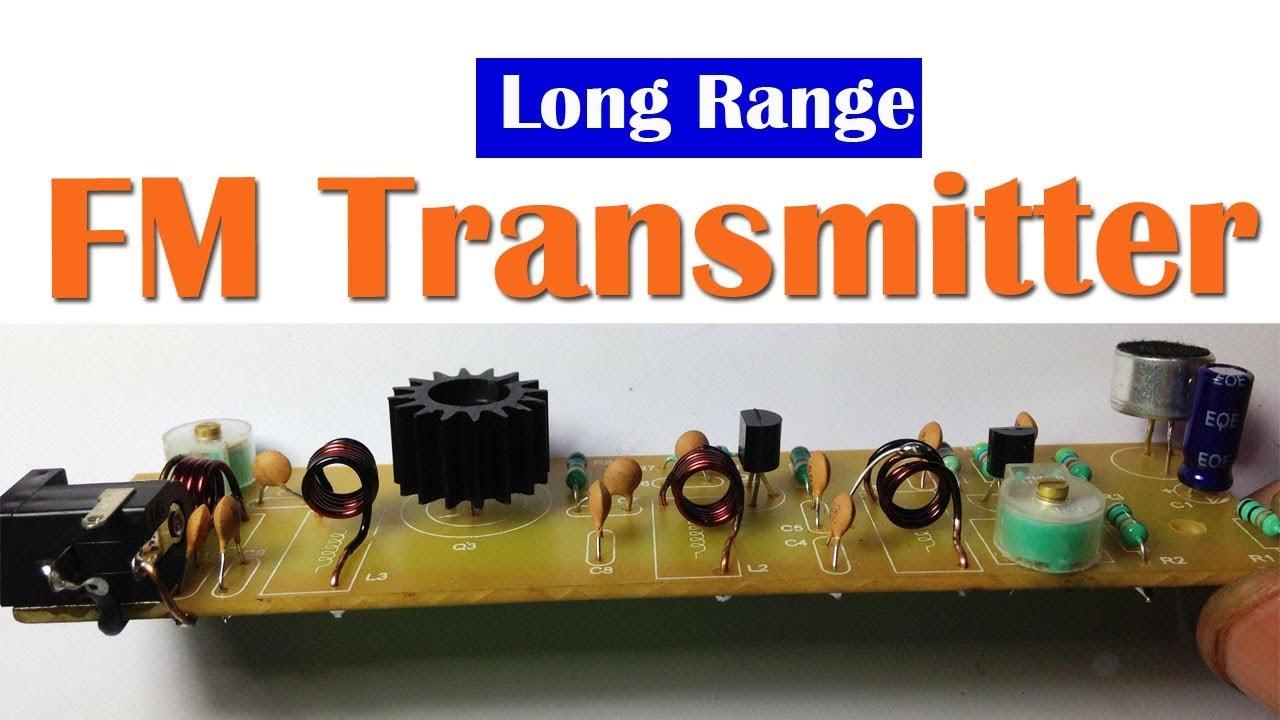 Long Range Fm Transmitter Circuit Youtube Low Power Diagram Wiring Diagrams
