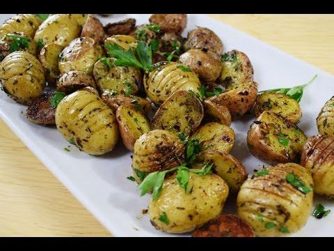 Papitas horneadas receta facil y rapida comida for Comida facil y sencilla
