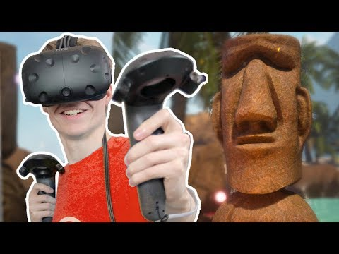 VIRTUAL REALITY ISLAND ESCAPE | XING: The Land Beyond VR (HTC Vive Gameplay)