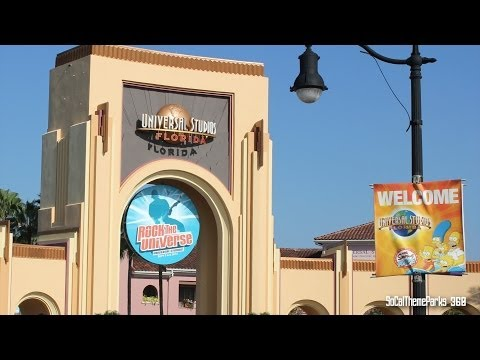 [HD] Full Tour of Universal Studios Florida Theme Park