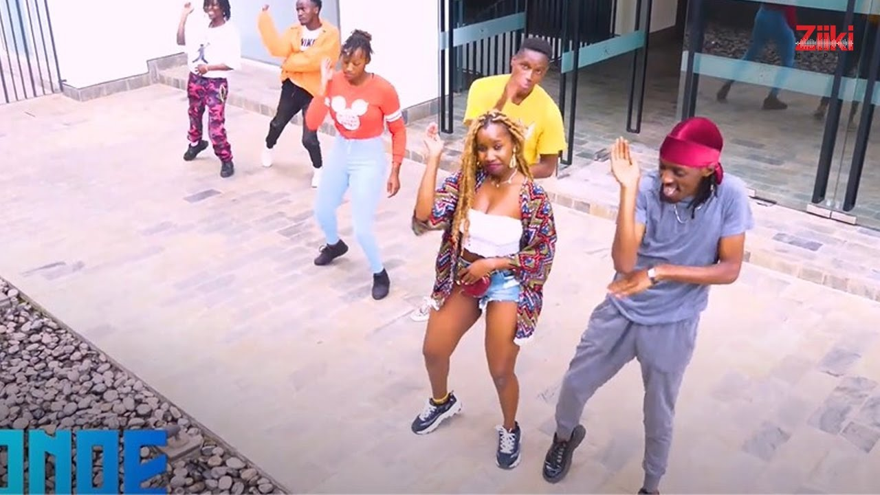 Rich Mavoko - Nidonoe (Dance Video  Part 2)
