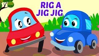 Rig ein Jig Jig | Reime für Babys| Kinder Gedichte | Songs in German | Rig A Jig Jig