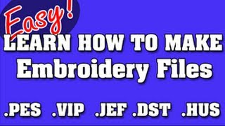 NEVER PAY FOR EMBROIDERY FILES AGAIN -