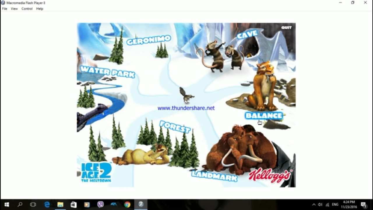 Ice Age 2 PC Kellogg\'s Interactive Activity CD 1/2 (CMTI) - YouTube
