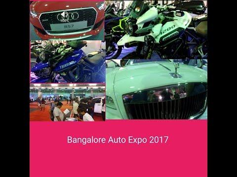 Bangalore Auto Expo 2017 | Full Video |