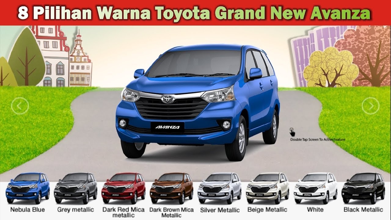 Pilihan Warna Grand New Avanza 2015 Ram Radiator Toyota Youtube