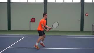 Stefan Gazo- College Tennis Recruiting Video Fall 2019