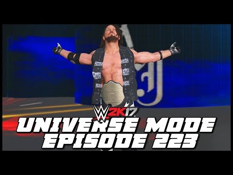 WWE 2K17 | Universe Mode - 'RESILIENT RUSEV!' | #223