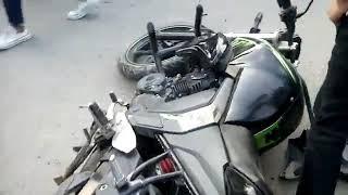 KTM 390 rc crash! Live At bathinda Road bike fails bike stunts