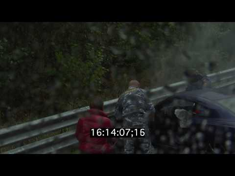 Nissan GT-R crash on Unlim 500+ Stage 11 — Official video
