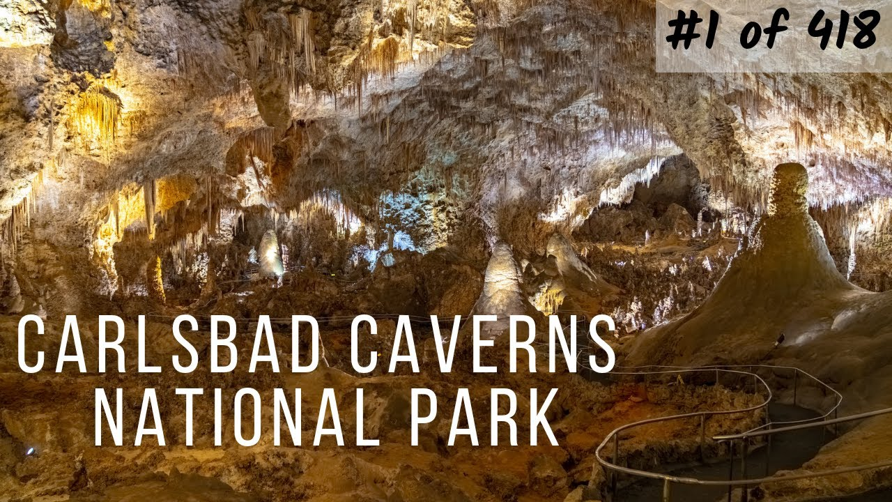 Carlsbad Caverns National Park - Hiking Down the Natural Entrance (#1/418)