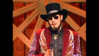 Hank Williams Jr. Wins Entertainer of the Year - ACM Awards 1989