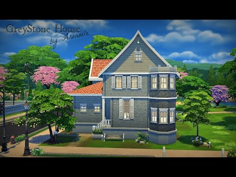 GreyStone House The Sims 4