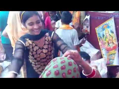 up village dehati dance 4/desi krishna song by nilam yadav