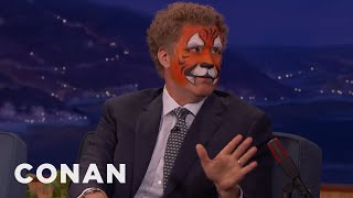 Will Ferrell Was A Terrible Valet  - CONAN on TBS