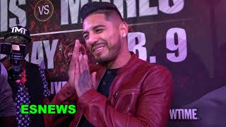 Abner Mares Not Holding Back When Reporter Is Disrespectful EsNews Boxing