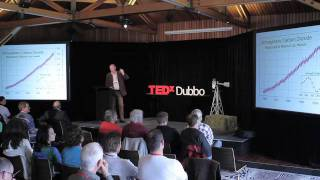 Soil carbon -- Putting carbon back where it belongs -- In the Earth | Tony Lovell | TEDxDubbo